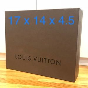 Louis Vuitton Hard Box 17 x 14 x 4.5